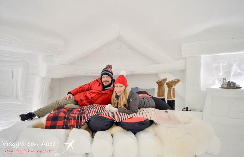 Dormire in uno chalet di neve: a Livigno si può!   Viaggia con Alice ...